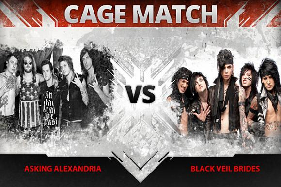 Black Veil Brides & Asking Alexandria at The Rave Eagles Club