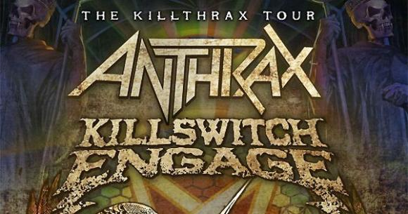 Killswitch Engage & Anthrax at The Rave Eagles Club