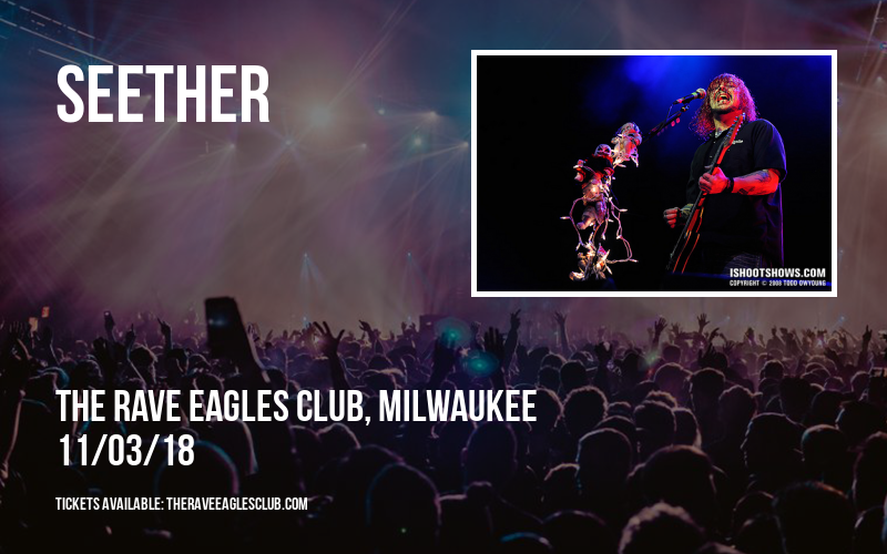 Seether at The Rave Eagles Club