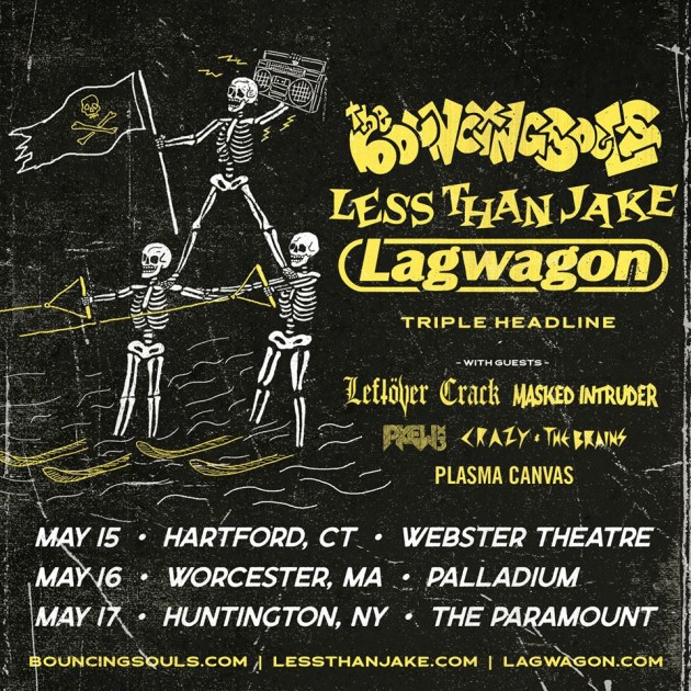 Lagwagon & Less Than Jake at The Rave Eagles Club