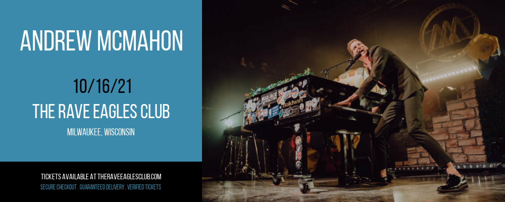Andrew McMahon at The Rave Eagles Club